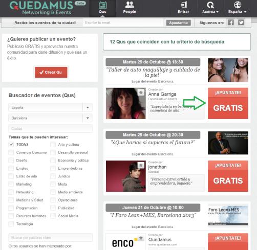Quedamus Networking