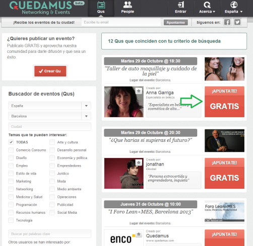 Quedamus Networking