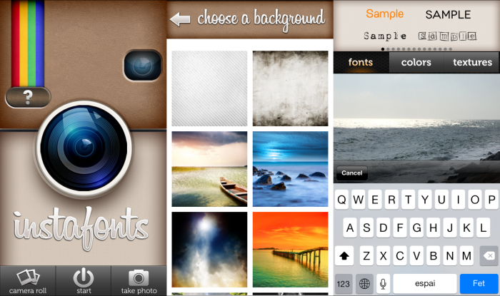 Instafonts for IOS