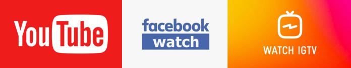 Xarxes Socials i Televisió: Youtube, IGTV i FacebookWatch
